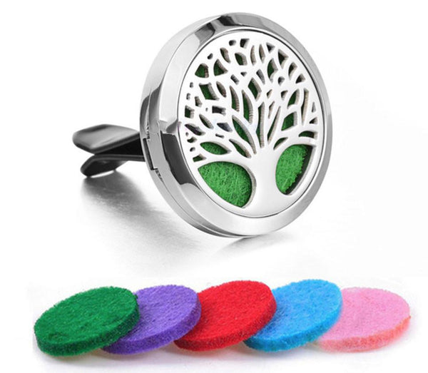 Car Diffuser Locket - Tree of Life