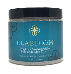 Dead Sea Soaking Salts 454g / 16 oz - Elabloom
