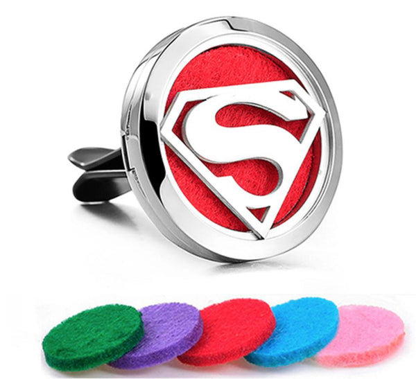 Car Diffuser Locket - Superman