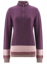 Old Ranch Brands Women's Fair Isle 1/4 Zip