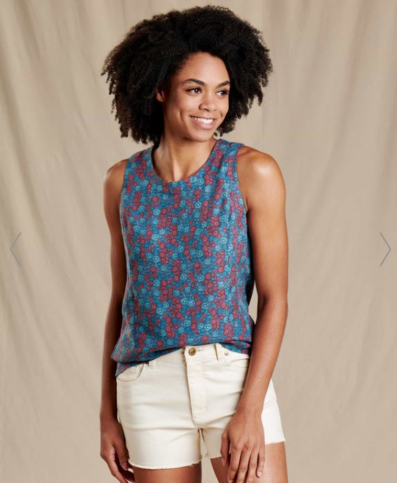 Toad and Co Women's Hillrose Festival Tank - Great Escape Outfitters