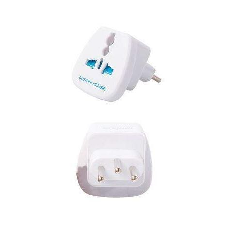 Austin House Grounded Adapter Plug Italy - Great Escape Outfitters