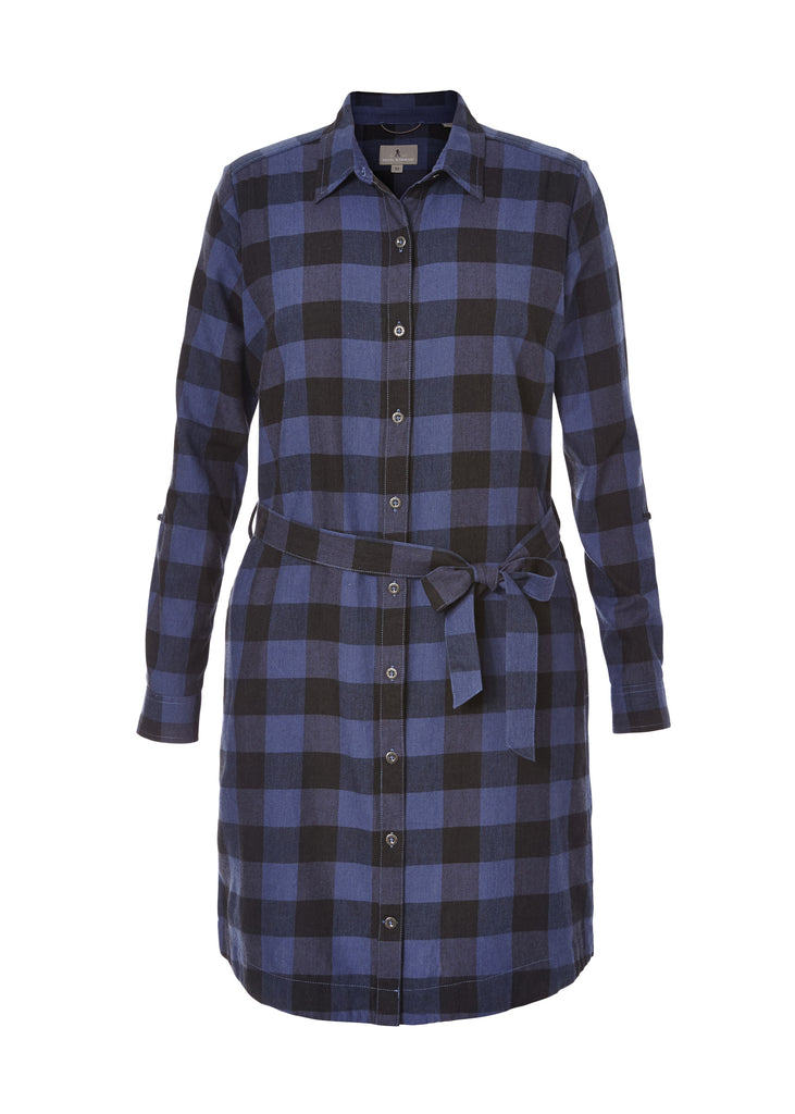 Royal Robbins Women's Jackson Plaid Dress - Great Escape Outfitters