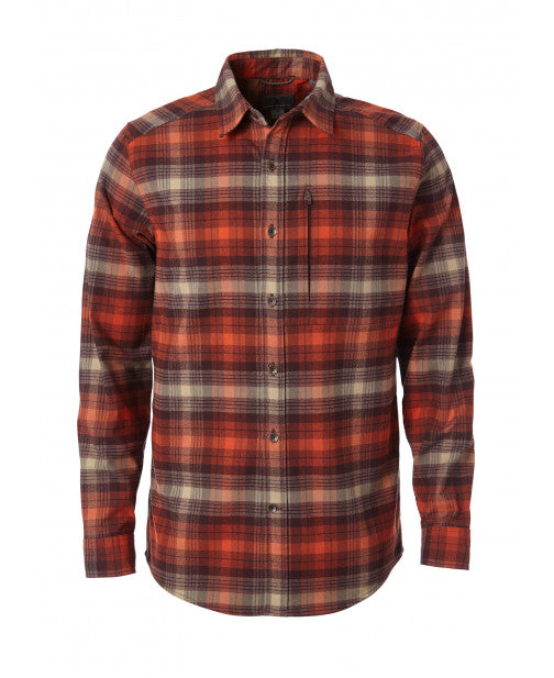 Royal Robbins Men's Merinolux Flannel LS - Great Escape Outfitters