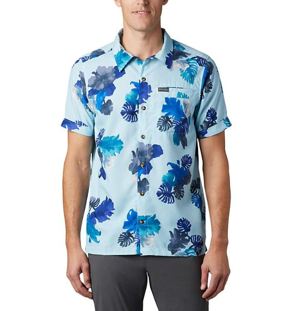 Columbia Men's Outdoor Elements™ Short Sleeve Print Shirt - Great Escape Outfitters