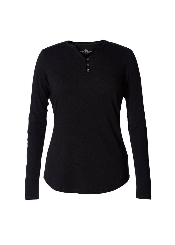 Royal Robbins Women's Merinolux Henley LS - Great Escape Outfitters