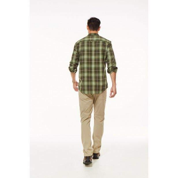 Royal Robbins Men's MerinoLux Plaid Flannel LS - Great Escape Outfitters
