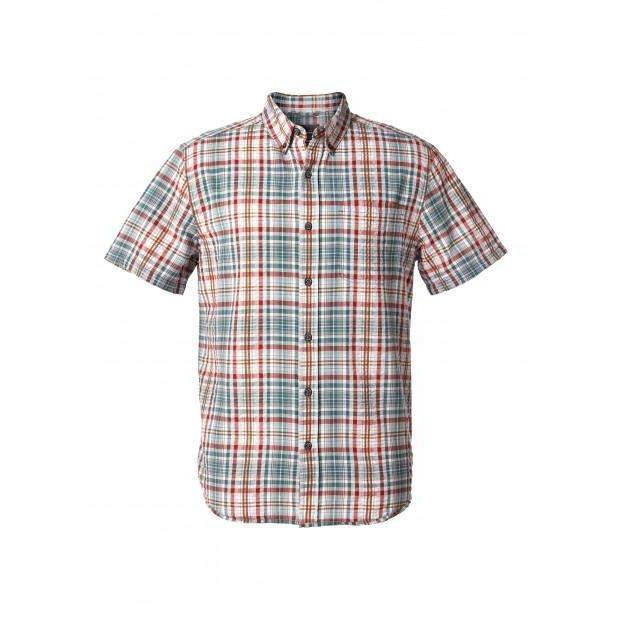Royal Robbins Men's Mid-Coast Seersucker Plaid S/S - Great Escape Outfitters