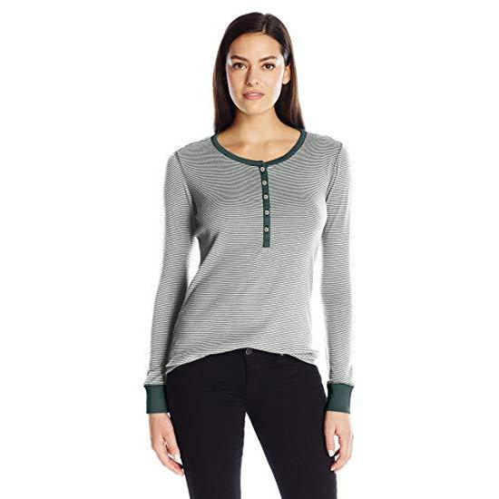 Royal Robbins Women's Kick Back Striped Henley - Great Escape Outfitters