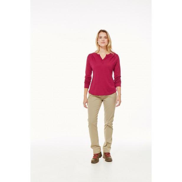Royal Robbins Women's Merinolux Henley-2018 - Great Escape Outfitters
