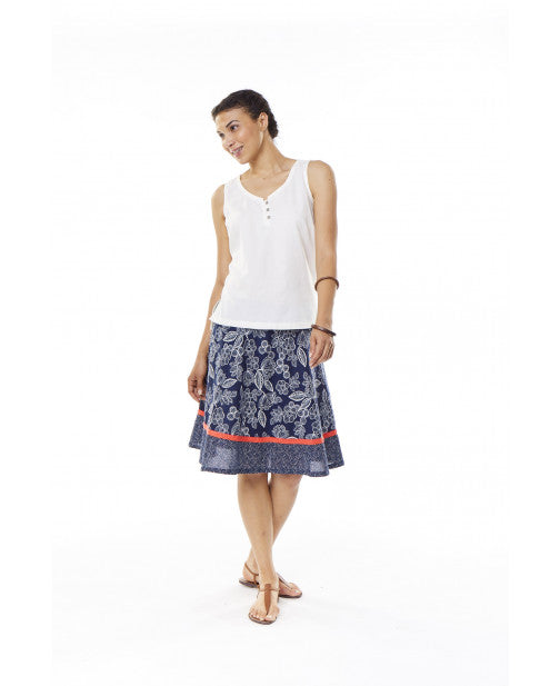 Royal Robbins Women's Cool Mesh Eco Print Skirt - Great Escape Outfitters
