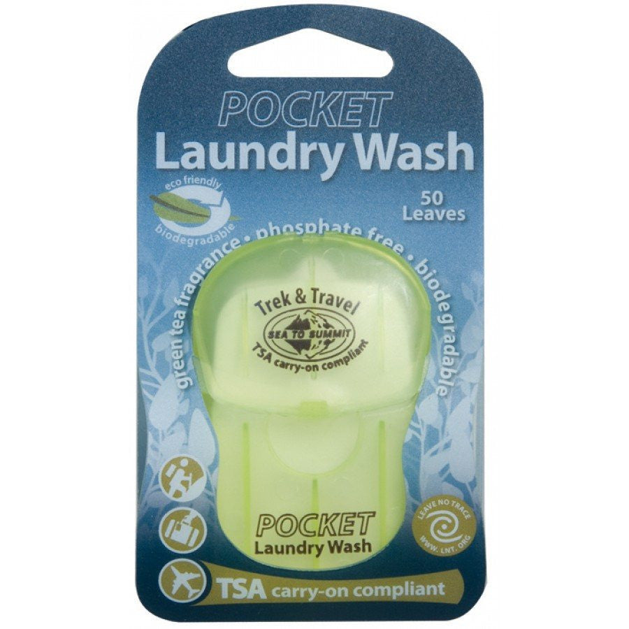 Sea To Summit Trek & Travel Pocket Laundry Wash Leaves-Great Escape Outfitters