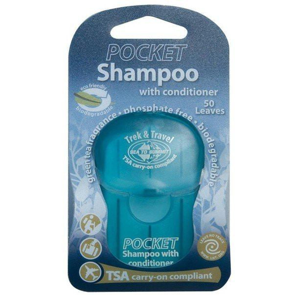 Sea To Summit Trek & Travel Pocket Shampoo With Conditioner Leaves - Great Escape Outfitters