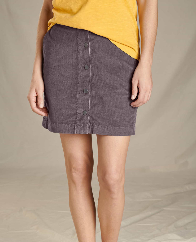 Toad & Co Women's Cruiser Cord Skirt