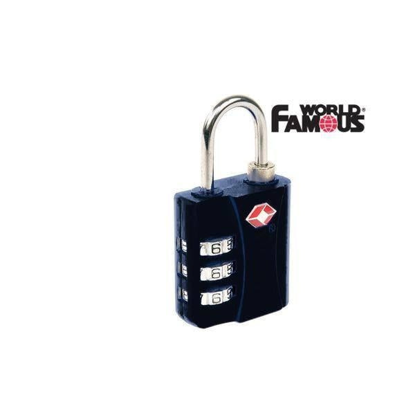 World Famous TSA Combination Lock-Great Escape Outfitters