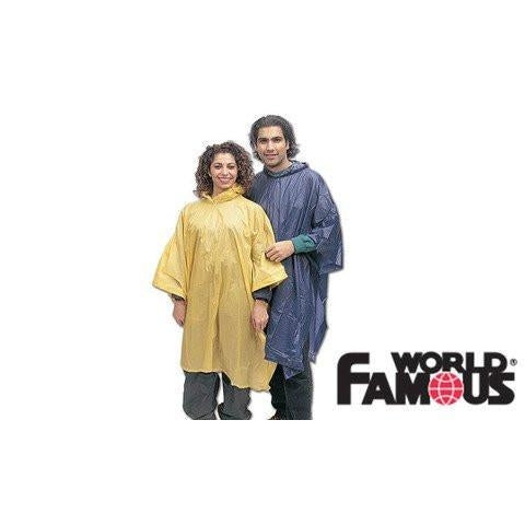 World Famous Vinyl Poncho-Great Escape Outfitters
