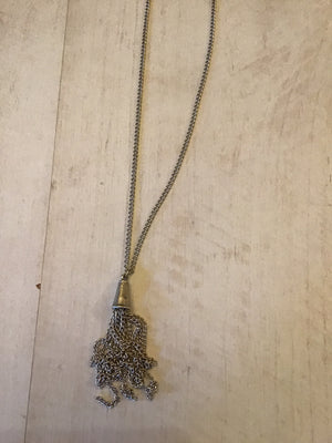 Treaty long tassel Millie necklace £18.99 now £9.49