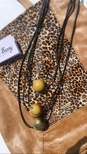 Load image into Gallery viewer, Nouvelle long 3 ball camel necklace £25.99