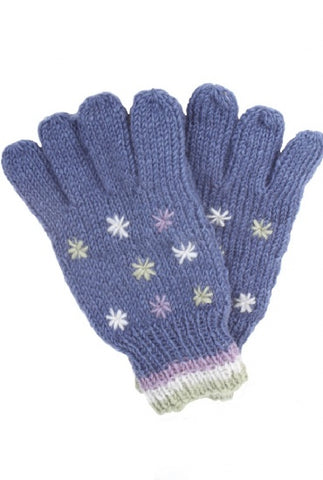 Snow in Summer Gloves- Denim
