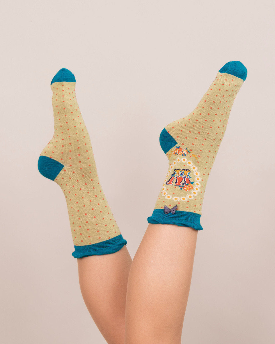 Powder A-Z Ankle Socks- W