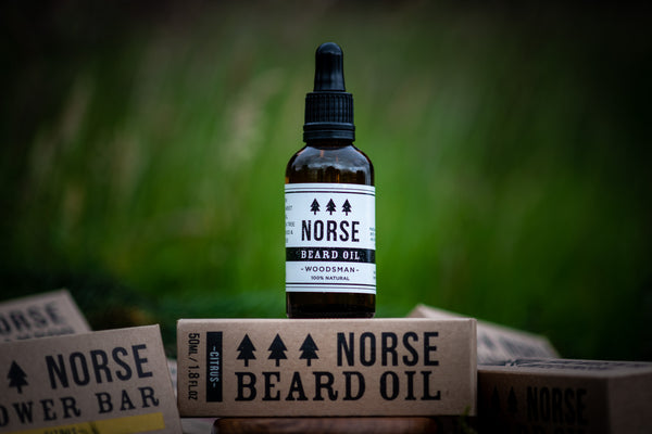 Beard Oil and Beard Shampoo - Woodsman