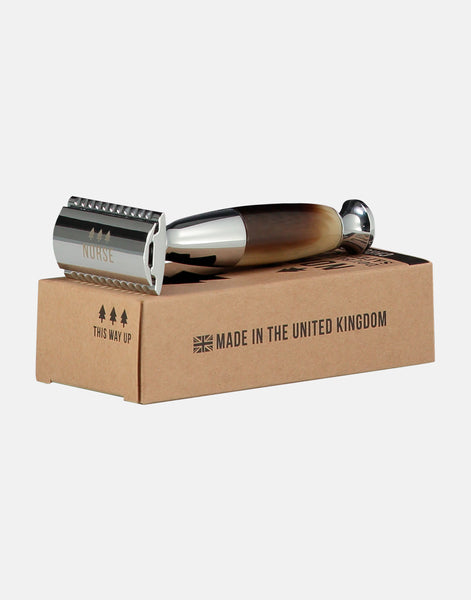 Norse double edged safety razor, fat boy, plastic free shaving