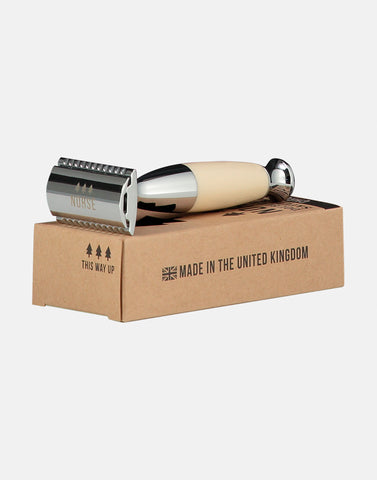 Norse thick handled double edged safety razor made in the United Kingdom