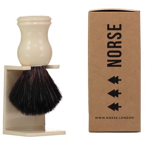 Ivory Shaving Brush - Norse