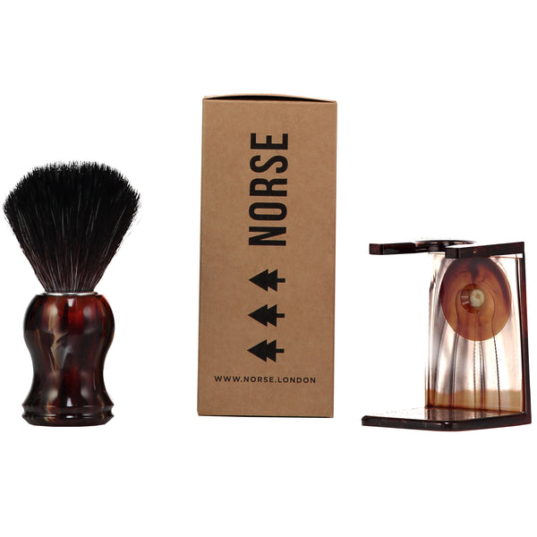 Tortoise Shell Shaving Brush Norse