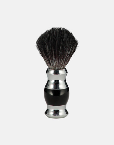 Norse fat handled vegan friendly ebony shaving brush