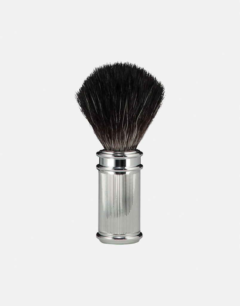 Norse vegan friendly shaving brush - chrome