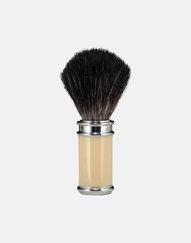 Norse vegan friendly shaving brush thin handle ivory