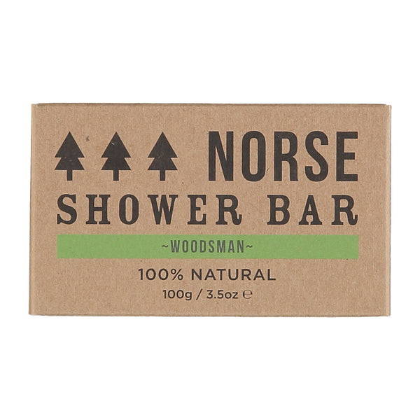3 x Shower Bar - Woodsman