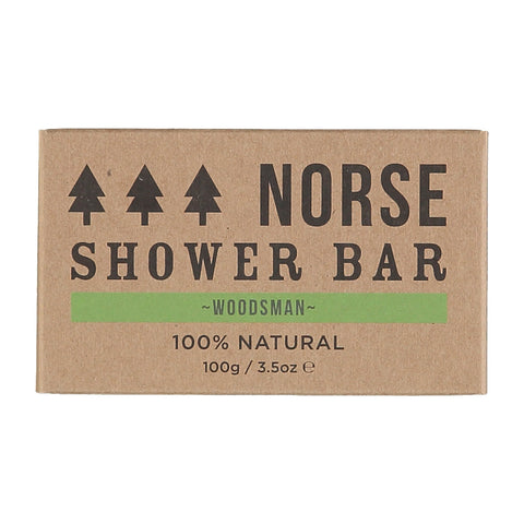 Norse Shower Bar - Woodsman