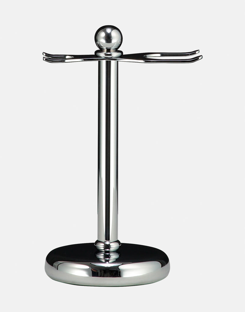 Shaving Set Stand for Thin Handled Shaving Set