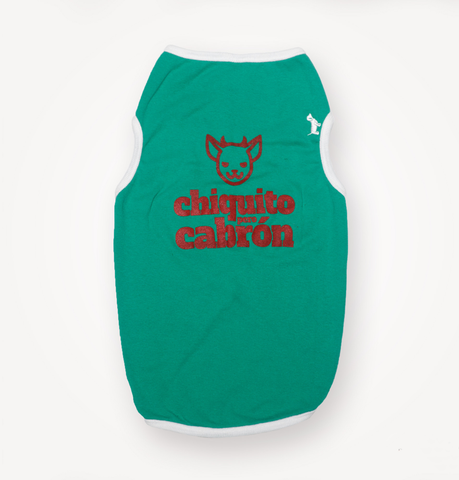 Tank Top Chiquito pero Cabrón Woofstore Funky Perro - 1