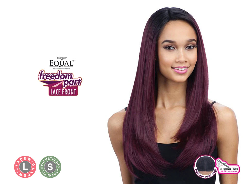 SHAKE N GO FREETRESS EQUAL LACE FRONT FREEDOM PART WIG 201