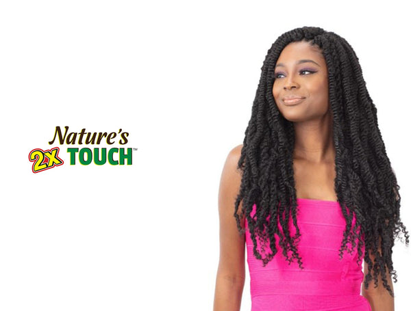 SHAKE N GO NATURES TOUCH BRAID - 2X TYPE 4 TWIST