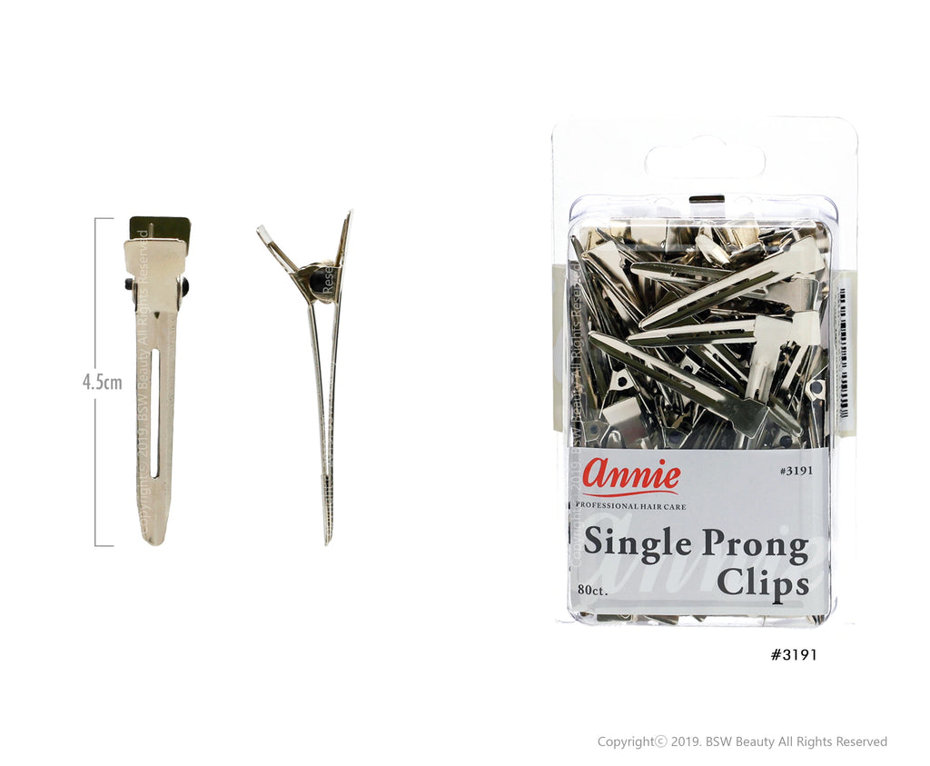 ANNIE PRONG CLIPS 80CT