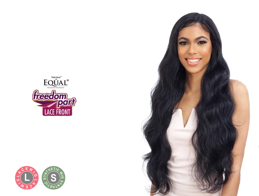 SHAKE N GO FREETRESS EQUAL LACE FRONT FREEDOM PART WIG 402