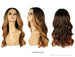 "SHAKE N GO FREETRESS EQUAL 5"" LACE PART WIG VALENTINO"