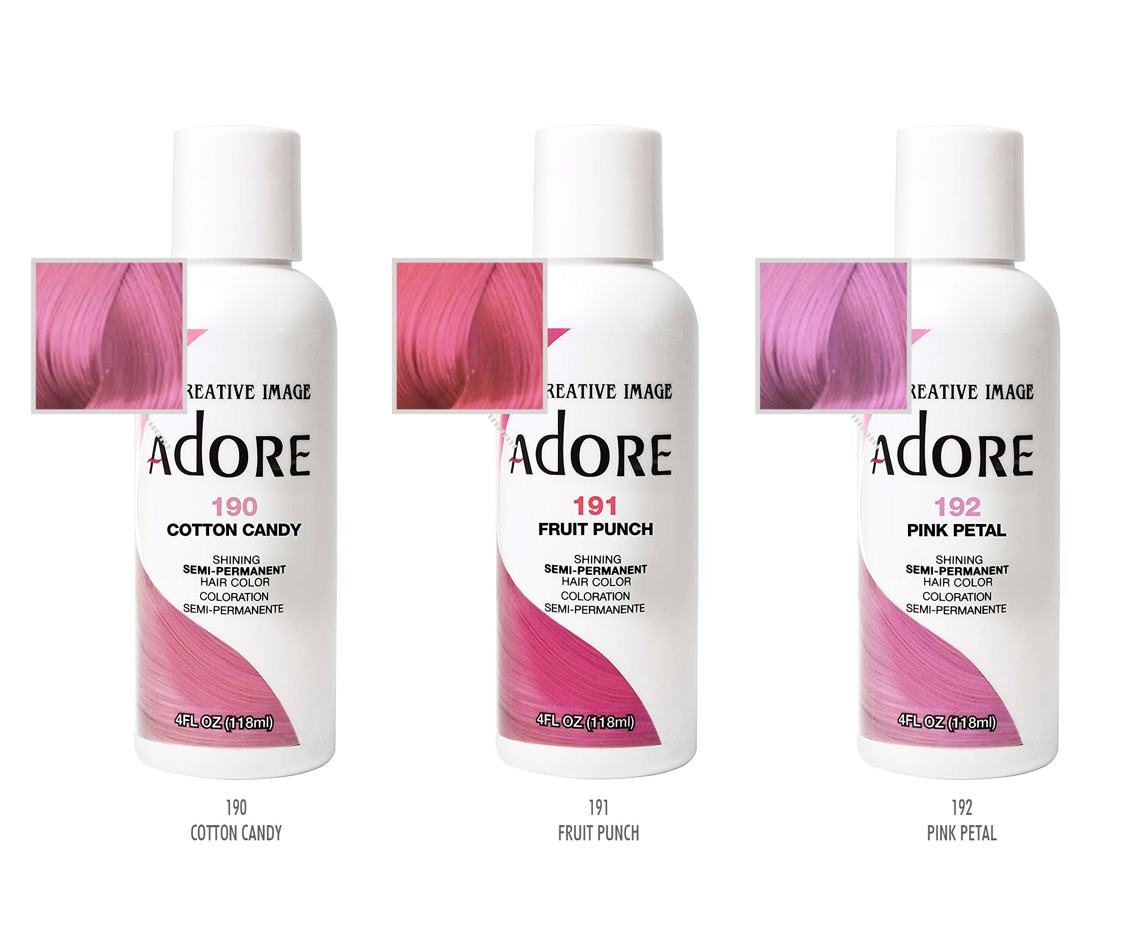 Adore Shining Semi Permanent Hair Color 35 Colors Bsw