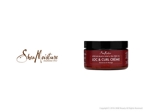 SHEA MOISTURE MEN AFRICAN BLACK SOAP & TEA TREE OIL LOC & CURL CREME 4oz