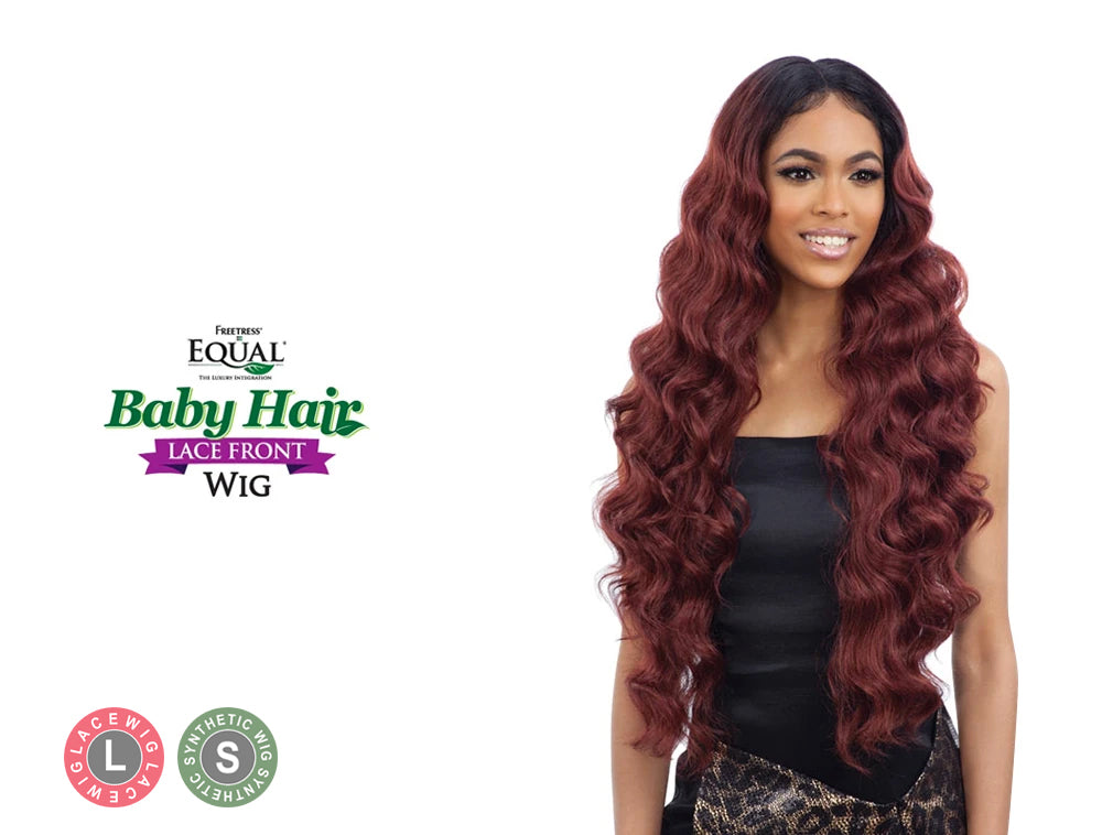 SHAKE N GO FREETRESS EQUAL BABY HAIR LACE FRONT WIG BABY HAIR 102
