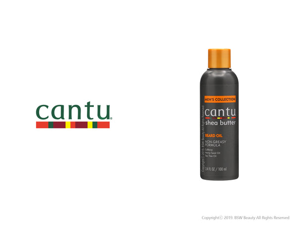 CANTU SHEA BUTTER MENS COLLECTION BEARD OIL 3.4oz