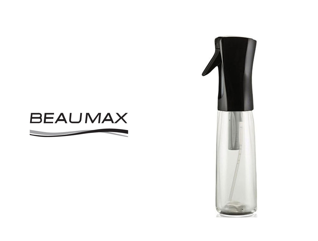 BEAUMAX ATOMIZER SPRAY BOTTLE - BLACK 300ML
