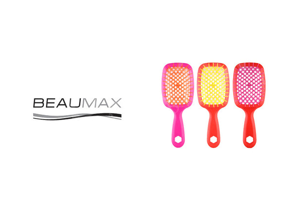BEAUMAX WET & DRY DETANGLING PADDLE BRUSH
