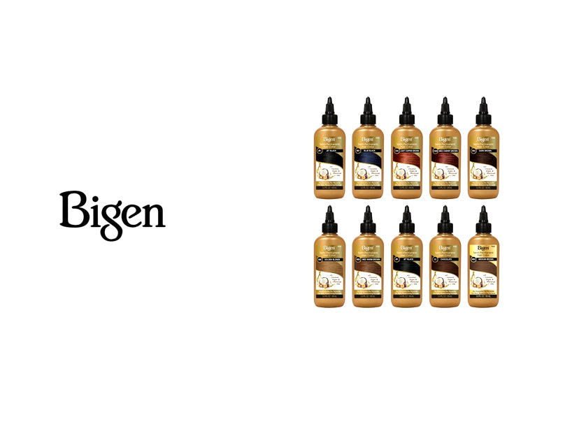 Bigen Semi Permanent Hair Colors 19 Colors Bsw Beauty Canada