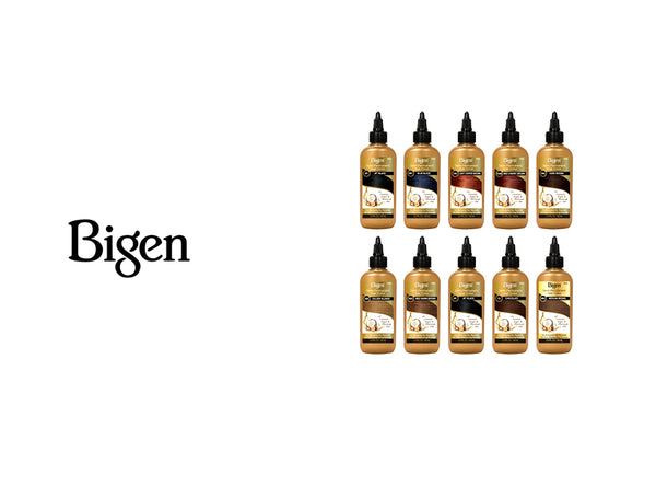 BIGEN SEMI PERMANENT HAIR COLORS - 19 COLORS