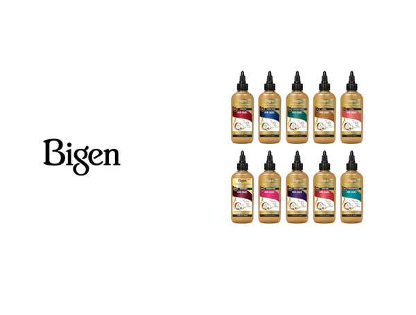BIGEN SEMI PERMANENT VIVID SHADES HAIR COLORS - 10 COLORS